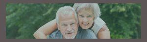 Happy Smiling Elderly Couple